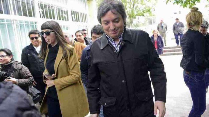Máximo y Florencia Kirchner.