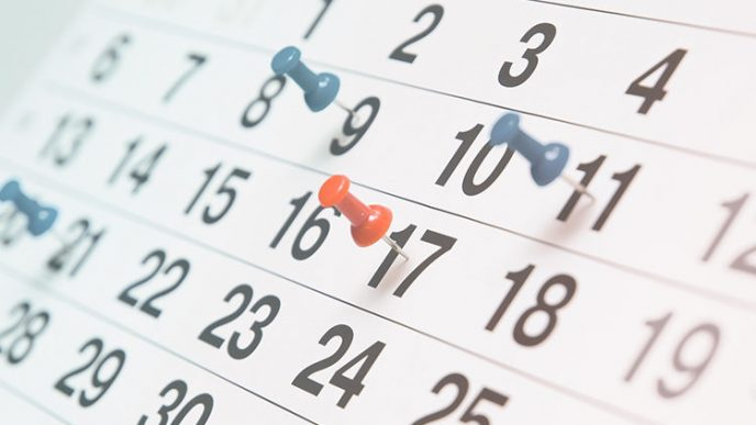 Calendario oficial