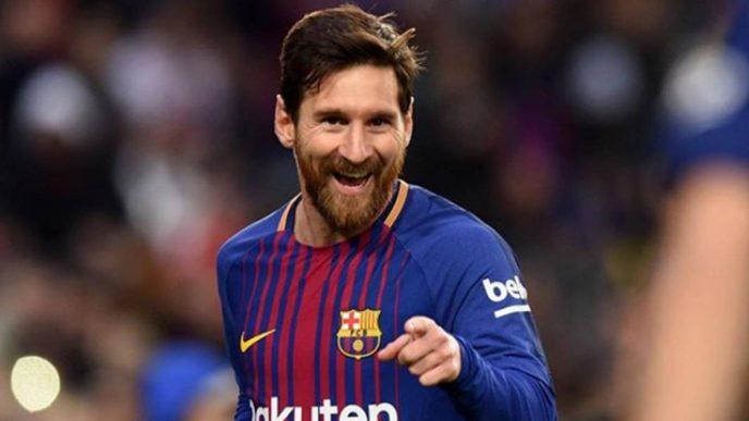 Lionel Messi, el argentino estrella del Barcelona