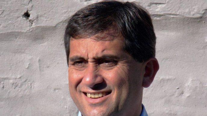 Juan Jose Fioramonti, intendente de Lobería