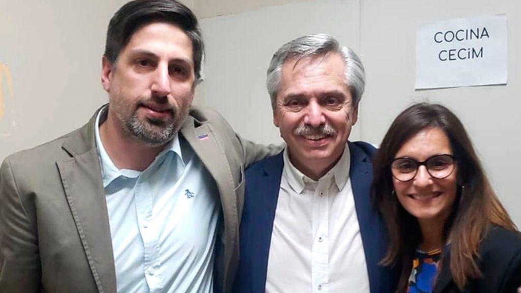 Nicolás Trotta, Alberto Fernández, Docentes, Colegios cerrados