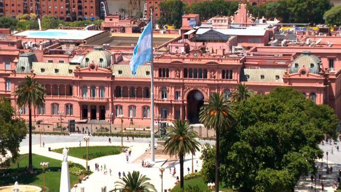 Casa Rosada, Ciudad Autónoma de Buenos Aires.