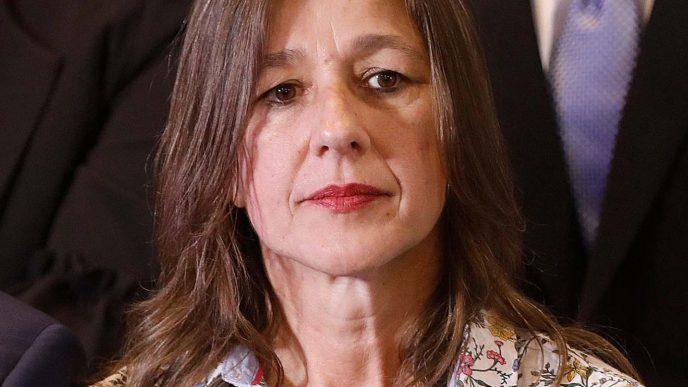 Ministra de Seguridad de la Noción Sabina Frederic