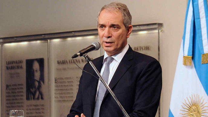 Julio Alak, ministro de Justicia y Derechos Humanos de la Provincia.