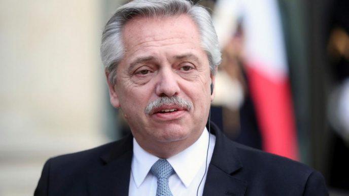 Alberto Fernández, presidente de la Nación Argentina