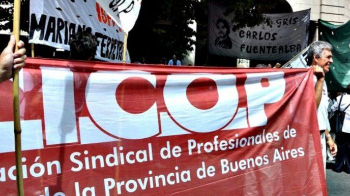 Médicos de la CICOP.