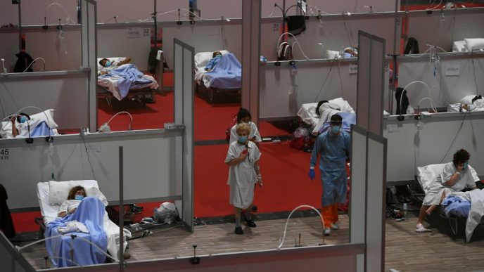 Pamdemia en España