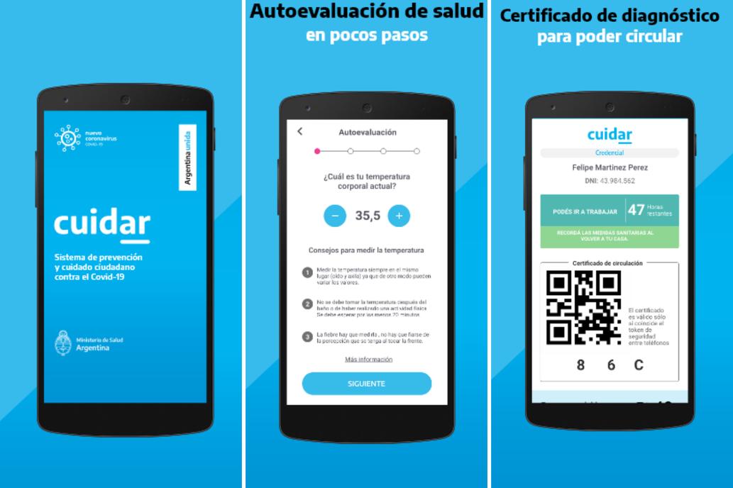 </a> App de permisos CuidAR