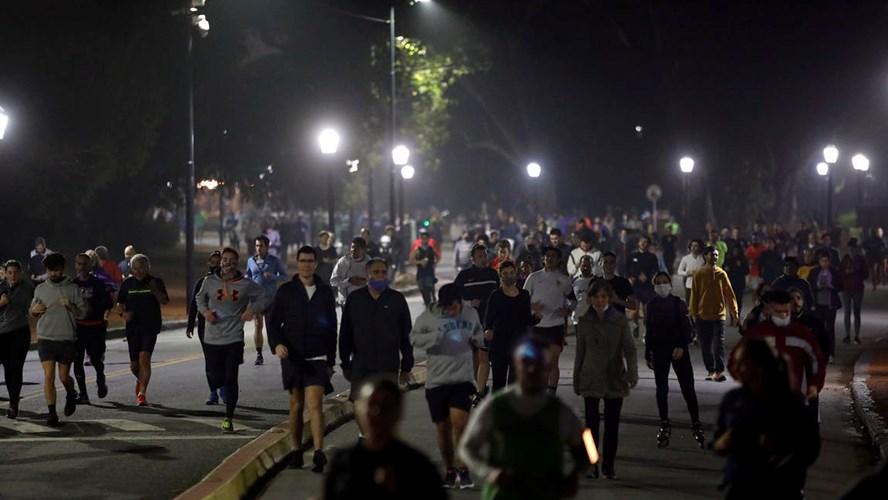 El vaticinio de Gray tras el aluvión de runners en Palermo | Grupo ...