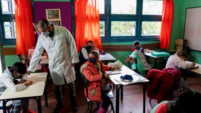 Escuelas bonaerenses.