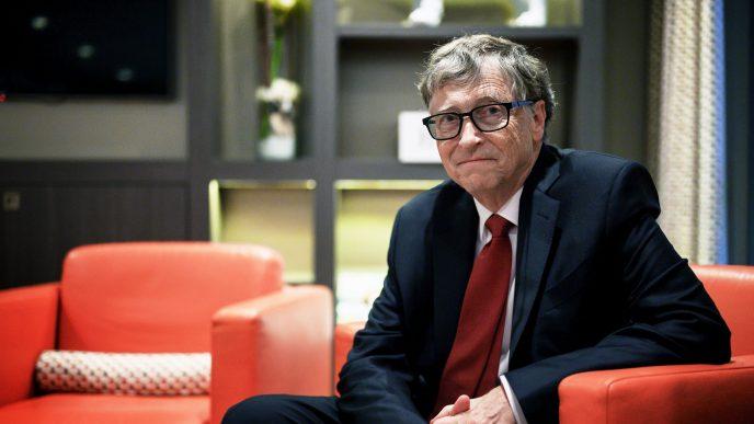 El empresario Bill Gates está señalado como conspirador de la pandemia, entre otros multimillonarios