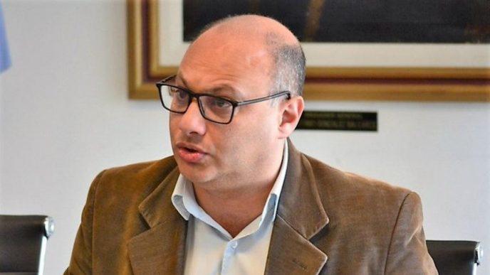 Esteban Reino, intendente de Balcarce