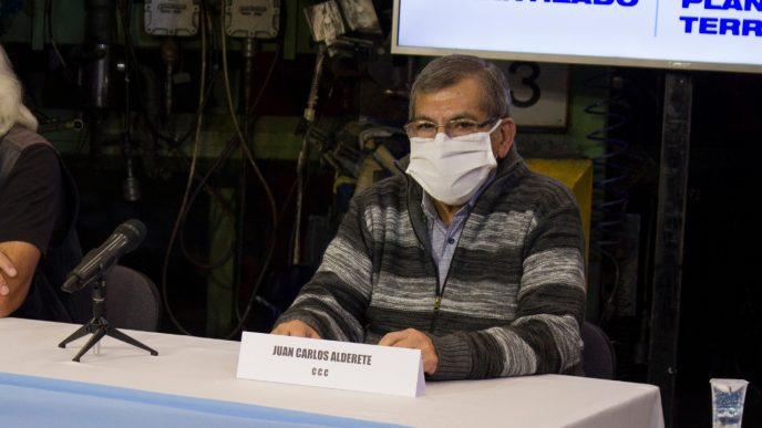 Legislador Juan Carlos Alderete
