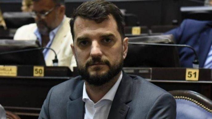 Juan Carrara, diputado bonaerense de Juntos por el Cambio