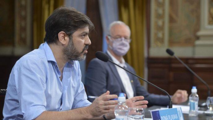 Bianco y Gollán en un nuevo informe epidemiológico.