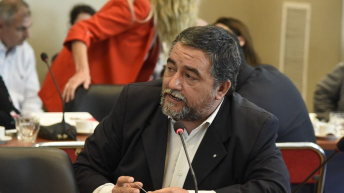 Diputado provincial Adrián Grana (FdT).