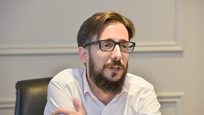 Agustín Simone, ministro de Infraestructura y Servicios Públicos de la Provincia, brindó detalles sobre los alcances del proyecto de Ley del Presupuesto 2021 ante la Cámara de Diputados
