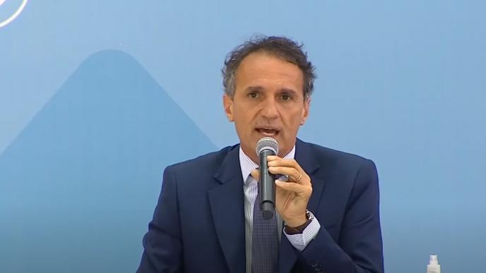 Ministro de Obras Públicas, Gabriel Katopodis