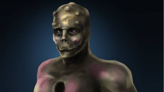 La impactante transformación de Anthony Loffredo en este alien