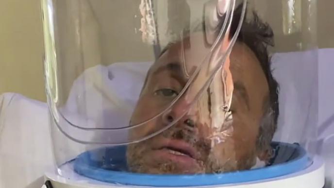 Sergio Lapegüe sigue internado por Covid en una clínica de Temperley.