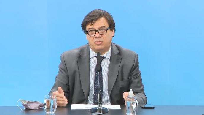 Ministro de Trabajo, Claudio Moroni