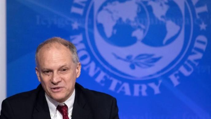Werner dejará su cargo en el FMI.