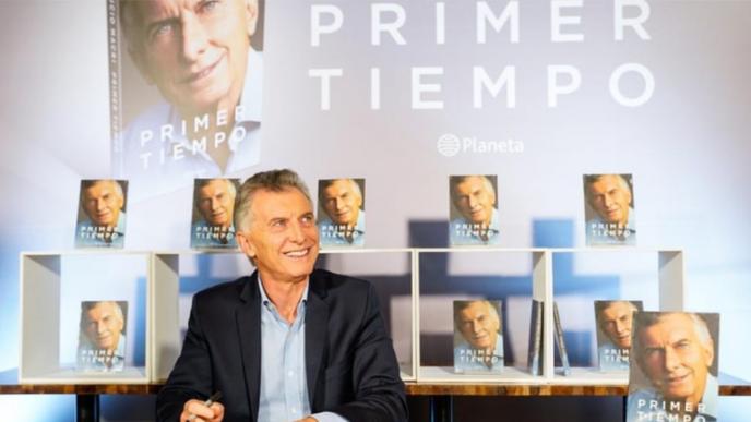 Mauricio Macri llega a Córdoba a presentar su libro
