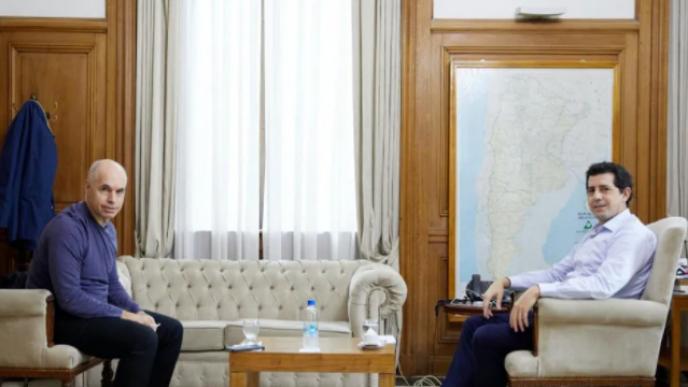 Larreta y De Pedro estarán con Guzmán para dialogar sobre los fondos de la Policía.